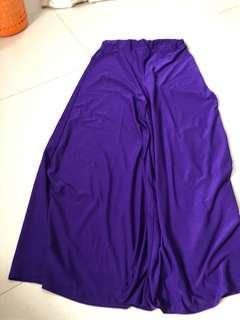Kulot Purple Panjang