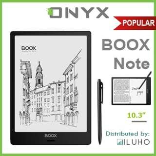 """🚚 [BNIB] Preorder Now! ONYX BOOX Note 10.3"""" Android eReader + Free Cover"""
