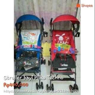 Stroller bayi Pliko Techno