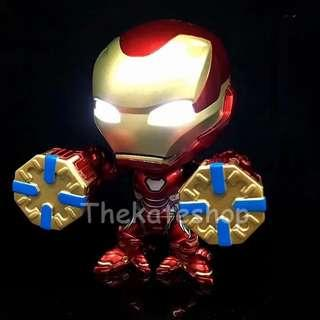 Iron Man Mark L / 50 Cosbaby with Lights