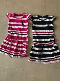 2 Dresses (65 cm to 70cm long) - bundle deal