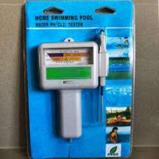water pH Cl2 chlorine tester tool pH / Cl2 level