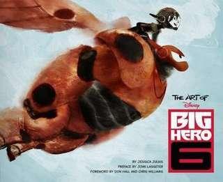 The Art of Big Hero 6 Hardcover Book