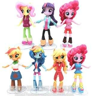 My Little Pony Equestria Girls set