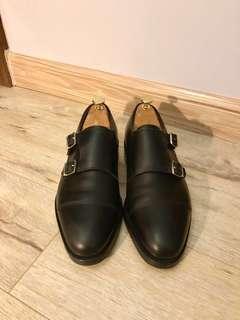 John Lobb WILLIAM Double Monk Strap Shoes 6.5ee