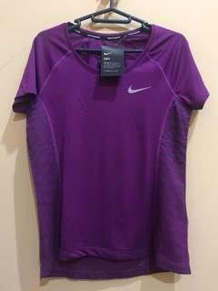 [NEW] NIKE Running Sport T-Shirt Dri-Fit / Kaos Olahraga Original