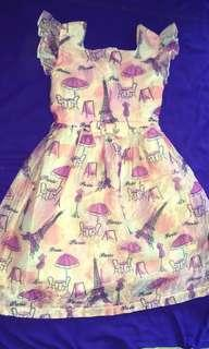 Little Miss Pink Paris Dress