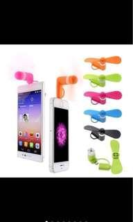 2in1 Portable Mini USB Mobile Fan