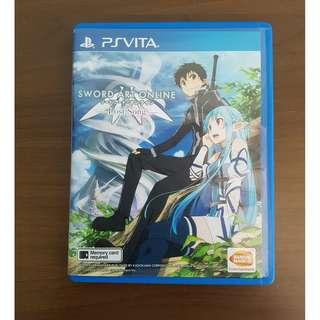🚚 PS Vita Sword Art Online Lost Song Original Game