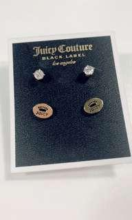 Juicy couture ear ring set