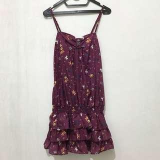 Fairy Tale Ruffled Mini Dress