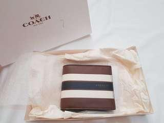 COACH wallet men