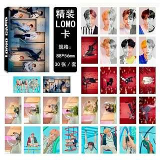 BTS Love Yourself:Answer Lomo Card Set
