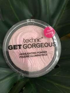 Technic get gorgeous highlighting powder #DeclutterWithFatin