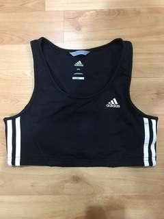🚚 Adidas Sports Crop Top / Bra - 2XL