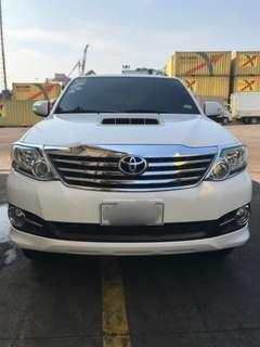 For Sale Toyota Fortuner 2016
