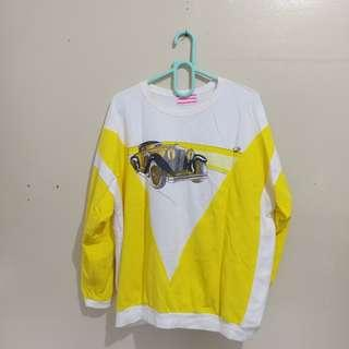 Yellow pullover