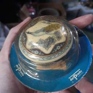 Del Prado trinket porcelain box