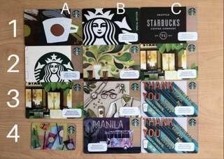 Starbucks Card - Philippines