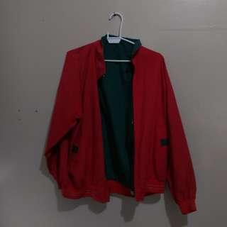 Reversible Red/Green Jacket