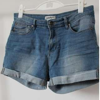 Breakers Blue Denim Shorts