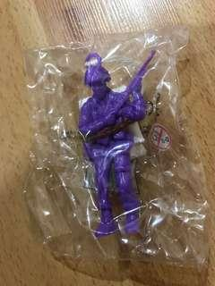 🚚 Toy Soldier - paratrooper in Purple