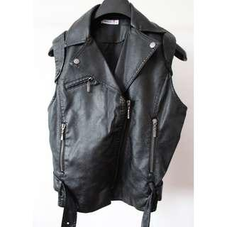 Valleygirl Pleather Vest