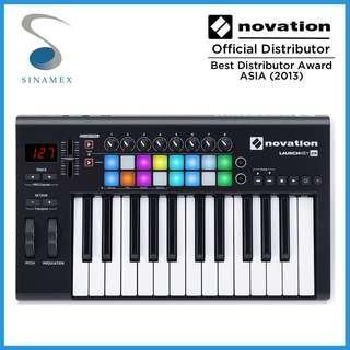 Novation Launchkey 25 MkII USB Midi keyboard controller