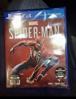 Spiderman ps4 (unused codes)