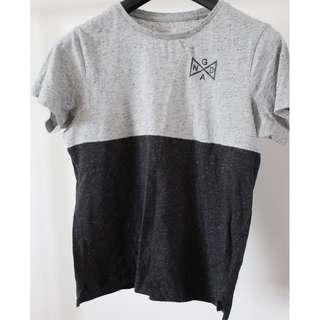 Ghanda Black & Grey Shirt