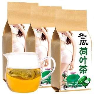 🚚 冬瓜荷葉茶 花草茶 瘦身茶 可排物