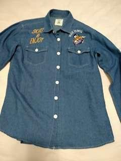 Duck Dude denim shirt size medium