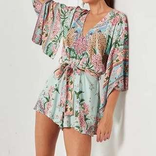 Sweet Kimono Romper