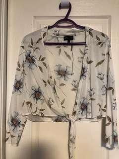 Brand new tied printed shirt
