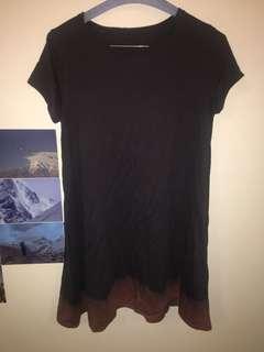 Unique tshirt dress