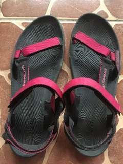 Sandal gunung pink hitam