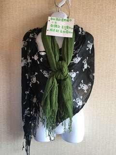 🚚 春秋薄款圍巾披巾