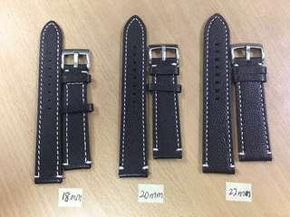 3pcs-Leather Watch Strap For Sale.