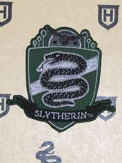 Slytherin Quidditch Iron On Patch
