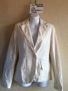 🚚 Etam法國品牌棉質西裝外套