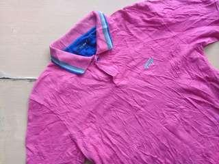 Tommy Twin Tipped Magenta Poloshirt