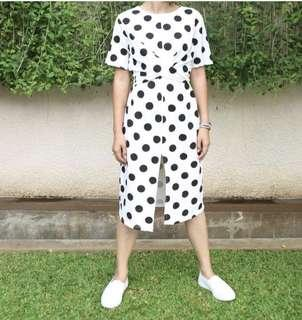 Bangkok polkadot dress