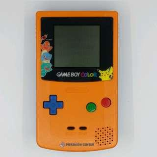 GBC Gameboy Color 日本 Pokemon Center 限定 3周年紀念