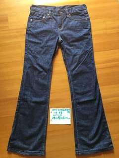 🚚 Levi's #578靴型牛仔褲