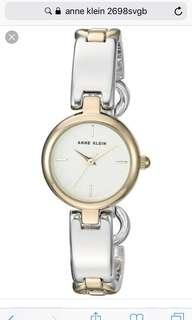 Anne Klein Watch 2698svgb Brandnew