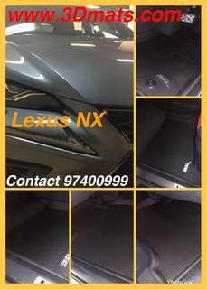 3D 汽車地毯Lexus NX
