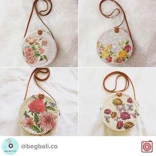 Handmade Rattan Bag from Bali 👜🇮🇩