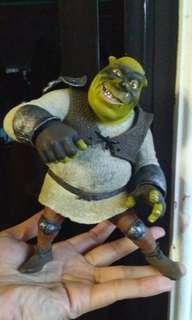 "Warrior Shrek of shrek4 action figure Almost 7"" , original collection"