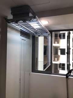Automated Ceiling Rack