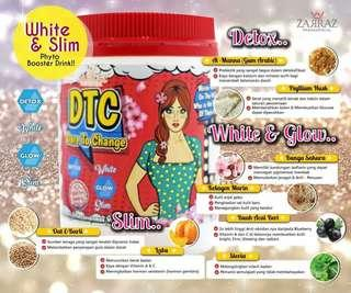 WHITE & SLIM PHYTO BOOSTER DRINK DTC (DARE TO CHANGE)